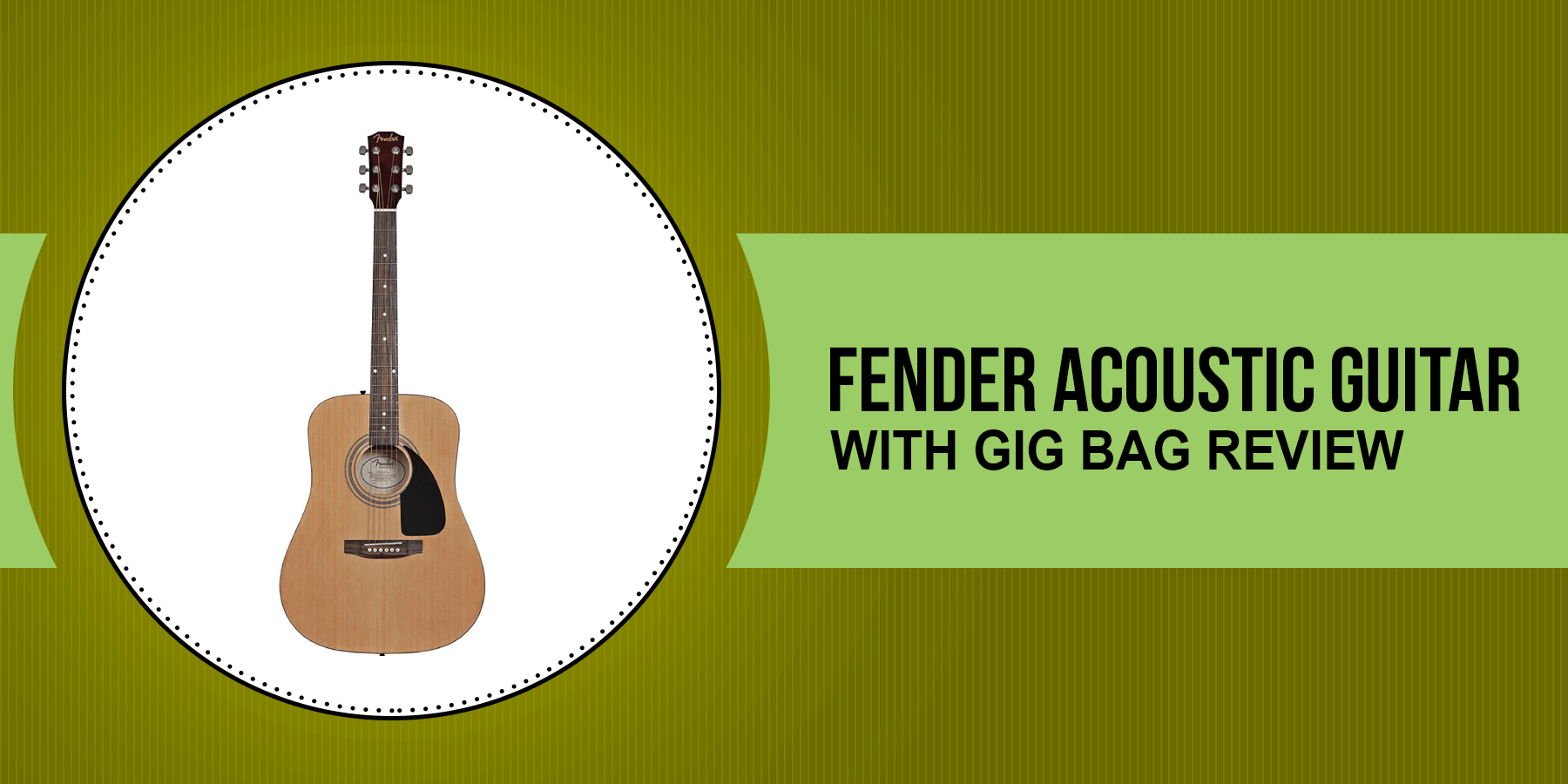 best fender acoustic guitar