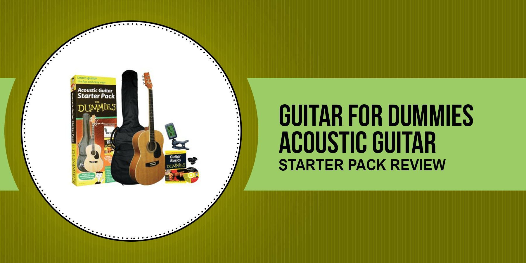 Guitar for Dummies acoustic guitar starter pack Review