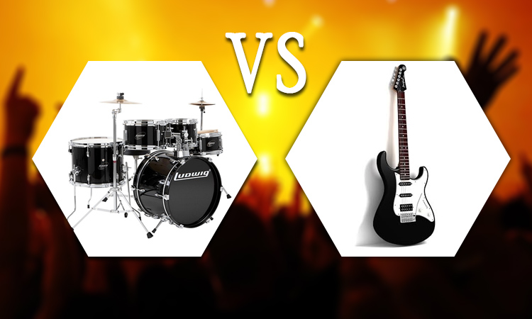 Drums vs Guitar: Which is Easier to Learn for Beginners?