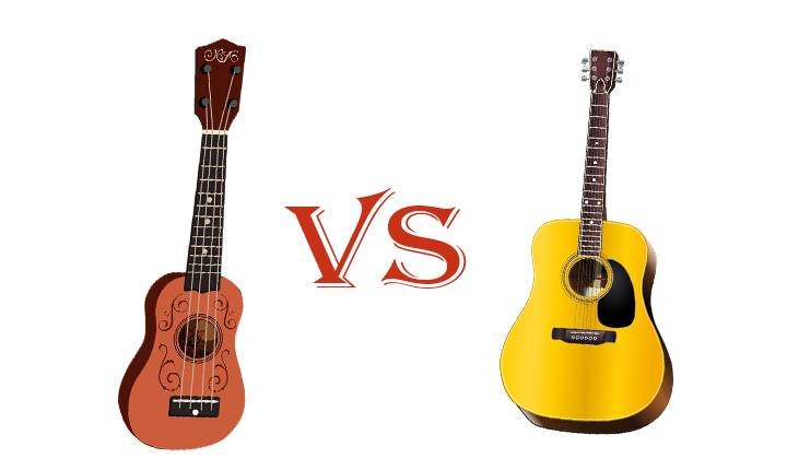 Ukulele vs Acoustic guitar-Which One Is Easier for Beginners?